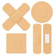 Medical Bandage - stock illustration