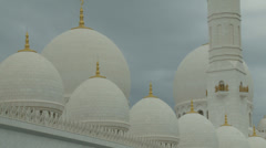 Sheikh Zayed Grand Mosque in Abu Dhabi  (14) Stock Footage