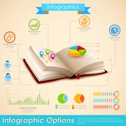 Education Infographic - stock illustration