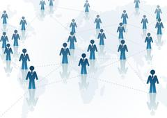 Global Communication Stock Illustration