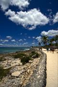 republica dominicana tourist coastline  peace - stock photo