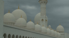 Sheikh Zayed Grand Mosque in Abu Dhabi  (20) Stock Footage