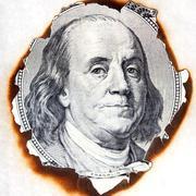 Stock Illustration of burnt paper