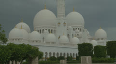Sheikh Zayed Grand Mosque in Abu Dhabi  (25) Stock Footage