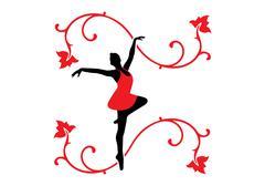 Balettitanssija Piirros