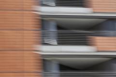 Defocused view of elevated walkways Stock Photos