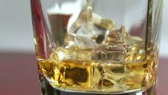 Pouring brandy 2 HD Stock Footage