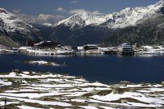 Lake Grimsel, Bernese Oberland, Switzerland Stock Photos