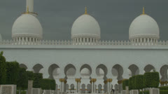 Sheikh Zayed Grand Mosque in Abu Dhabi  (29) Stock Footage