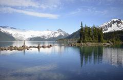 Garibaldi Lake, British Columbia, Canada Stock Photos