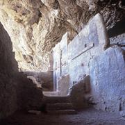 Ancient cave dwellings in Tonto National Park, Arizona Stock Photos