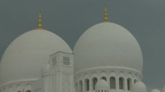 Sheikh Zayed Grand Mosque in Abu Dhabi  (31) Stock Footage