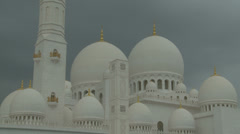 Sheikh Zayed Grand Mosque in Abu Dhabi  (32) Stock Footage