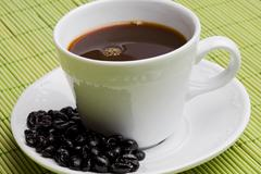 cup of expresso coffee - stock photo