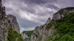 Turzii Gorge Time lapse HD Stock Footage