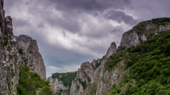 Turzii Gorge time lapse 4K Stock Footage