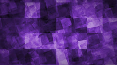 Blocks Optical Illusion – Purple - stock footage
