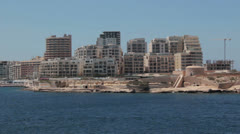 Maltese impressions - Tigne point Stock Footage