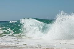 Wave crash Stock Photos