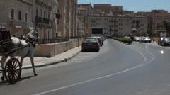 Maltese impressions - La Valletta streets _7 Stock Footage
