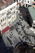 View from Galata Tower, Istanbul, Turkey Stock Photos