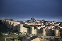 Castilla y Leon, Avila, Spain Stock Photos