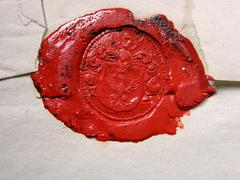 heraldic - stock photo
