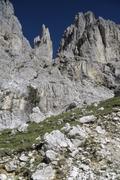 A mountainous rock formation Stock Photos