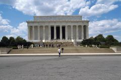 USA, Washington D.C., Lincoln memorial Stock Photos
