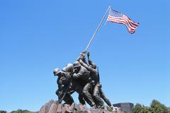 Iwo Jima Memorial, Arlington, Virginia, USA Stock Photos