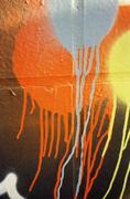 Spray paint on wall Kuvituskuvat