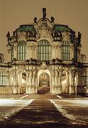 Rampart Pavilion, Zwinger Palace, Dresden, Germany Stock Photos