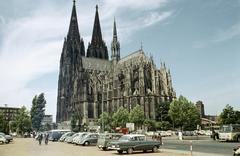 Cologne Cathedral, K'lner Dom (Hohe Domkirche St. Peter und Maria), Germany Stock Photos