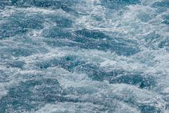 sea water - stock photo