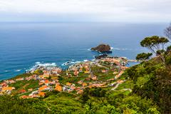 Stock Photo of porto moniz, madeira