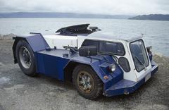 4x4 ajoneuvon vesirajasta Kuvituskuvat
