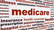 Stock Video Footage of Medicare creative words animation
