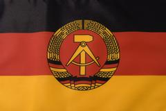 Stock Photo of German Democratic Republic Flag