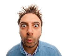wow expression - stock photo