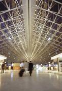Foyer at Charles De Gaulle Airport, Paris, France Stock Photos