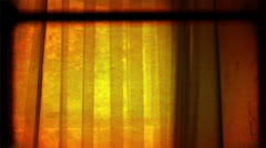 Retro Window | Film Frames | Title Background Stock Footage