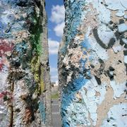 Gap in the Berlin Wall, Germany Stock Photos