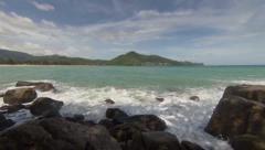 View of the sea. thailand, kamala Stock Footage