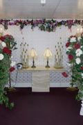 Altar at a wedding chapel, Las Vegas, Nevada Stock Photos
