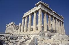 The Acropolis, Athens, Greece Kuvituskuvat