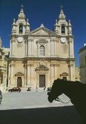 Ta Pinu Basilica, Gozo, Malta Stock Photos