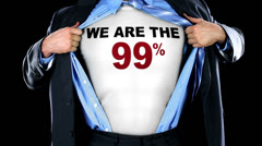 We Are the 99 Percent Stock Footage