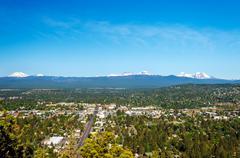 Cascade Mountains - stock photo
