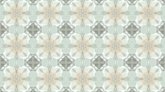 Flower mosaics pattern background,gorgeous orient religion fancy. Stock Footage