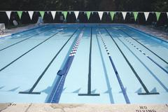 An empty swimming pool Stock Photos